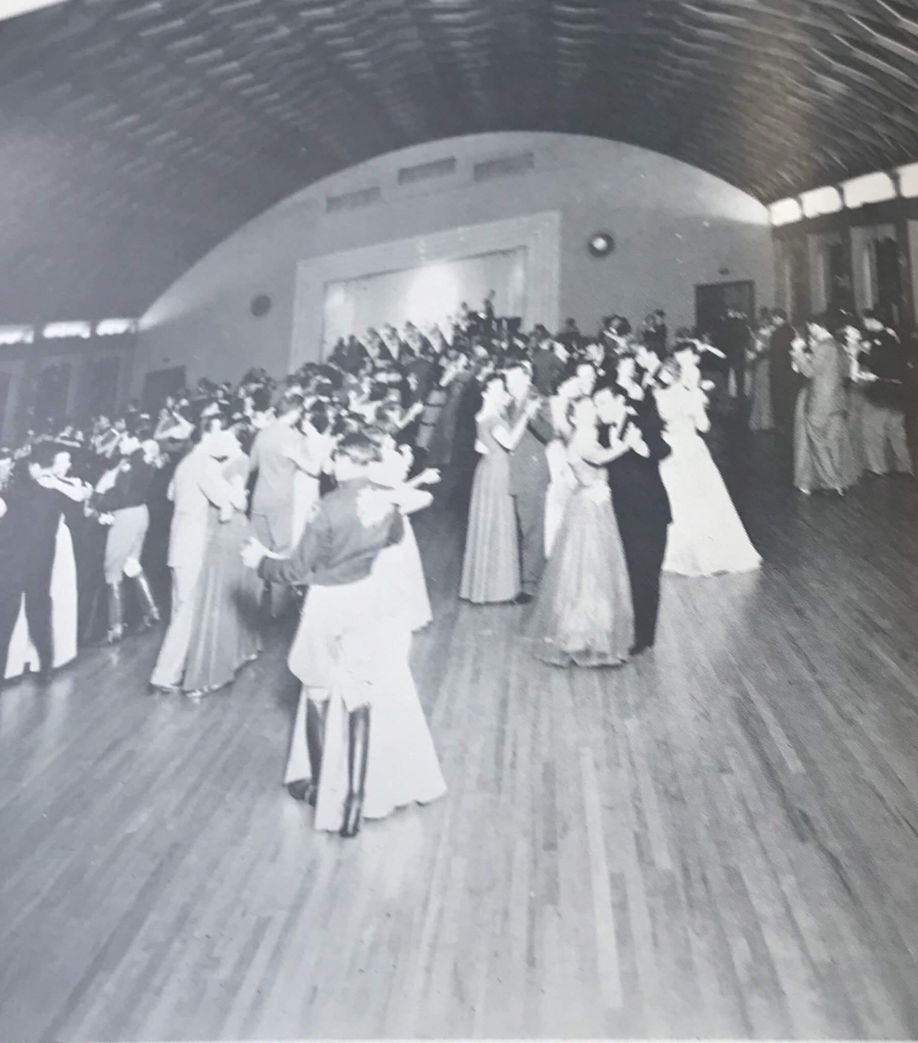 A dance in the ballroom in 1947.