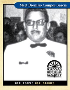 Photo of Dionisio Campos Garcia Kansas Historical Society