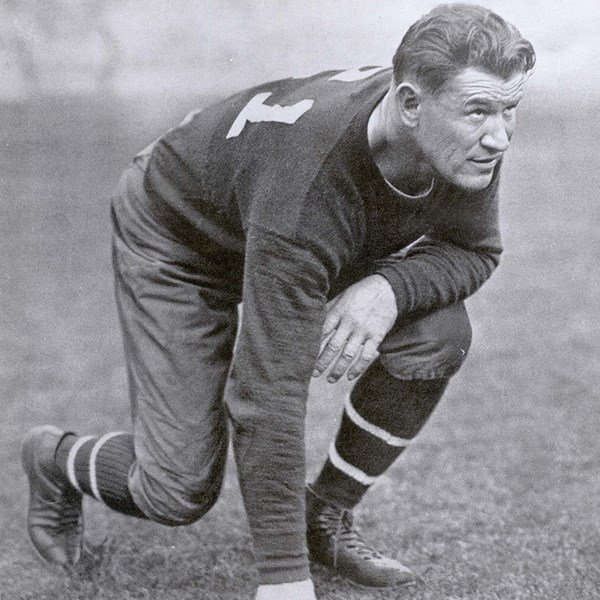 """Thorpe was inducted to the National Football Hall of Fame and was generously labeled """"World's Greatest Athlete"""" by the National Pro Football Hall of Fame in Canton, Ohio."""