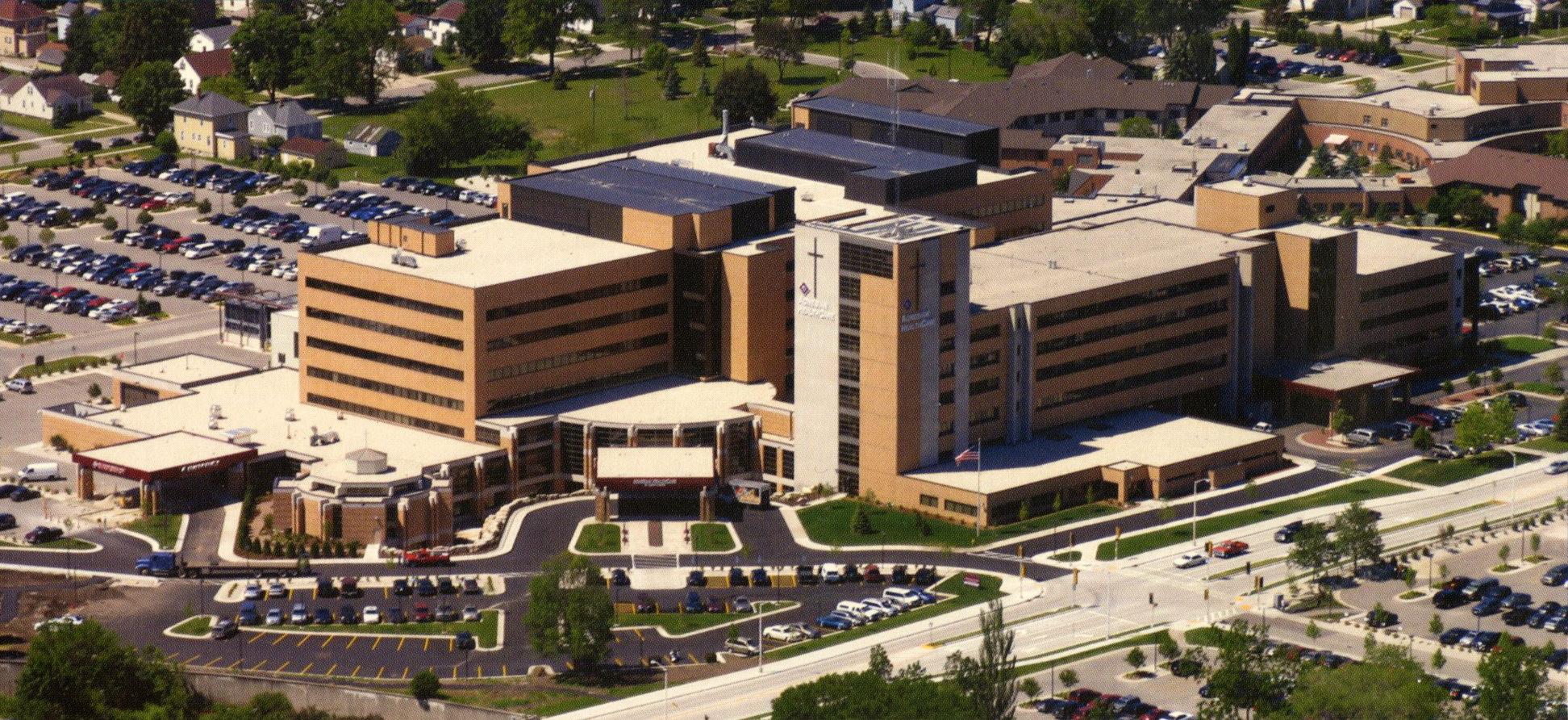 St. Agnes Hospital, c. 2006.