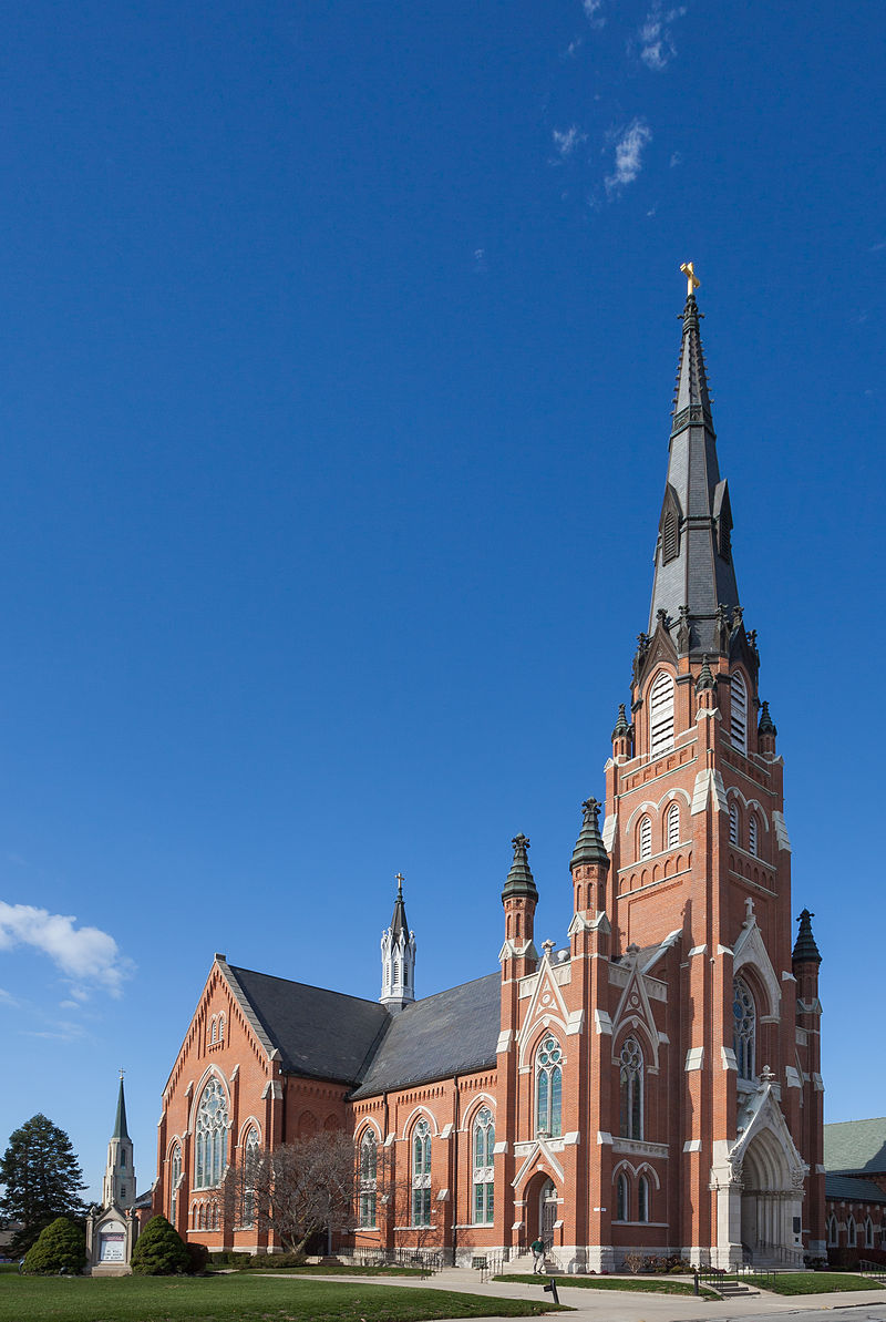 Saint Paul's Evangelical Lutheran Church was built in 1889 and is one of the city's iconic landmarks.