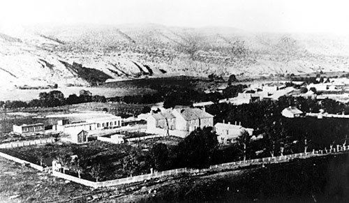 This picture is when Lincoln County was established in 1869.