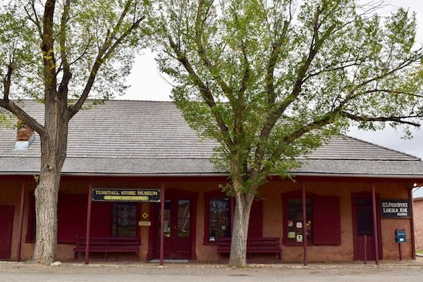 This is Tunstall store museum that features original merchandise from the 19th century.