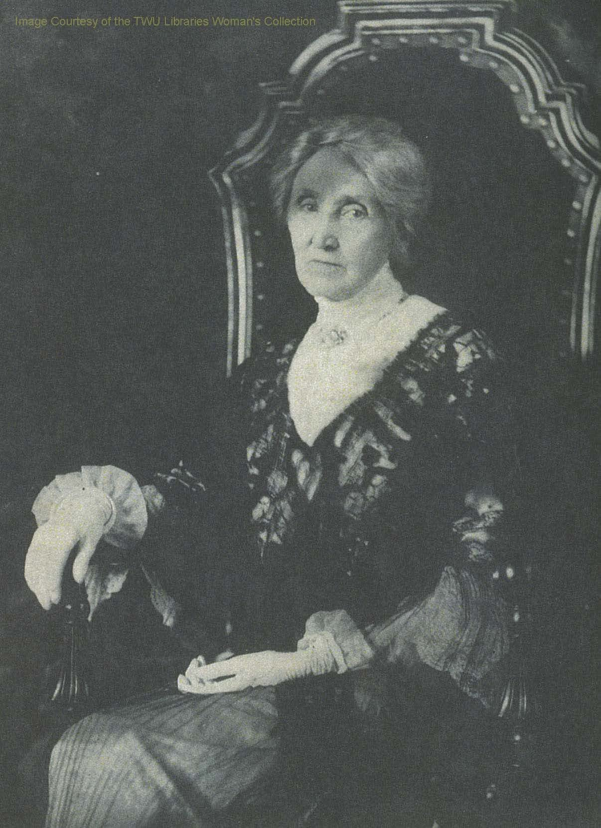 Mary Eleanor Brackenridge: The student union's namesake, and a pioneer for women's rights.