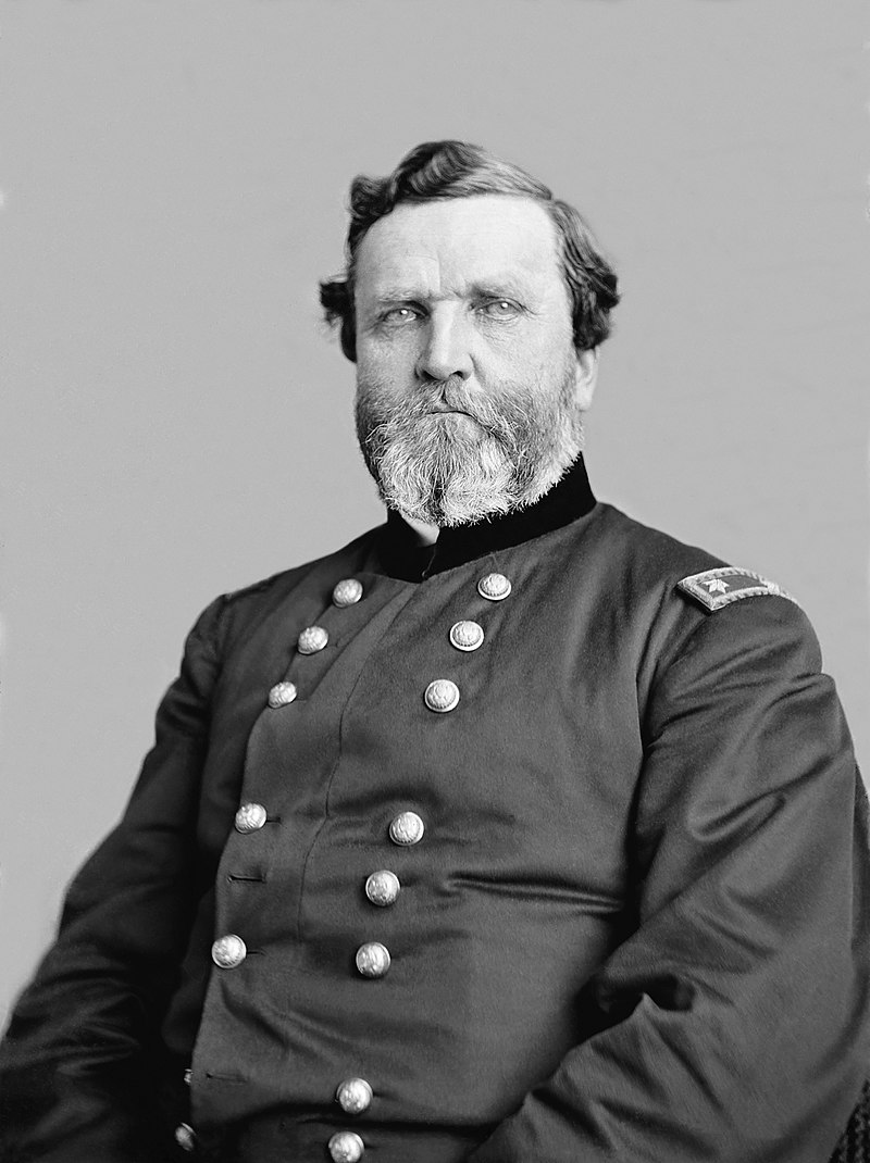 General George H. Thomas, Commander of the Union Army during the Battle
