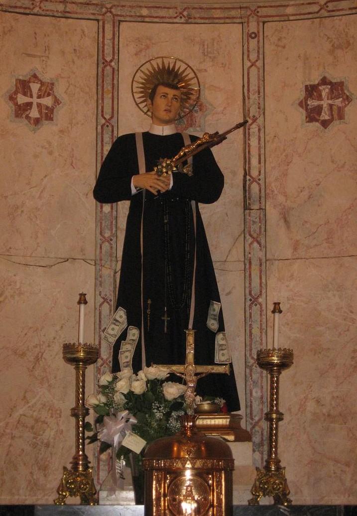 Statue of St. Gerard Majella.
