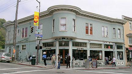 Mrs. E.P. (Stella) King Building, declared a City of Berkeley Landmark in 2004 and fully restored by Berkeley businessman John Gordon in 2006