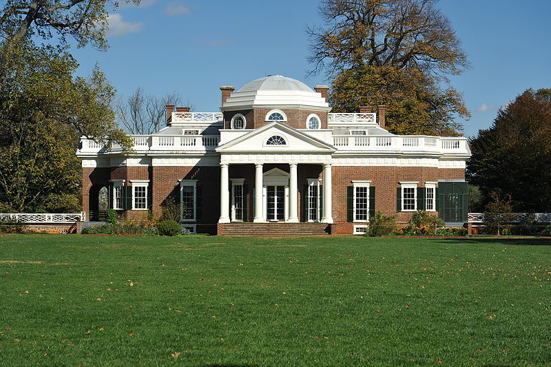 "Jefferson designed the house to resemble the work of Andrea Palladio, an Italian Renaissance architect. Monticello is Italian for ""little mount."""