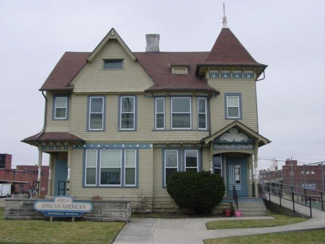 The African/African-American Museum is located in this historic home built in 1890.
