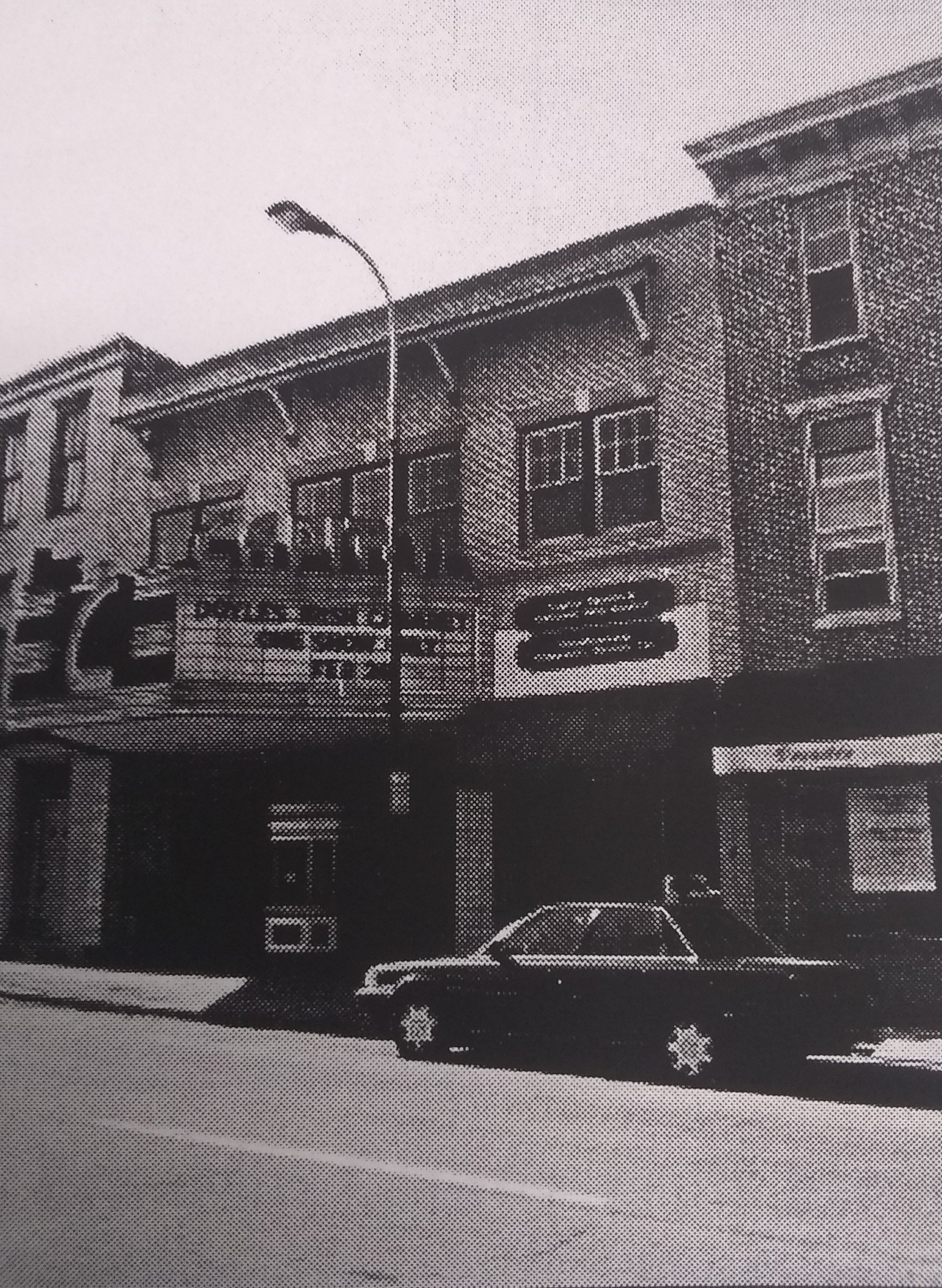 The original front of the theater is a testament to the people's timeless values of etiquette and civility in society. Photo Courtesy of Lincoln Highway Heritage Corridor.