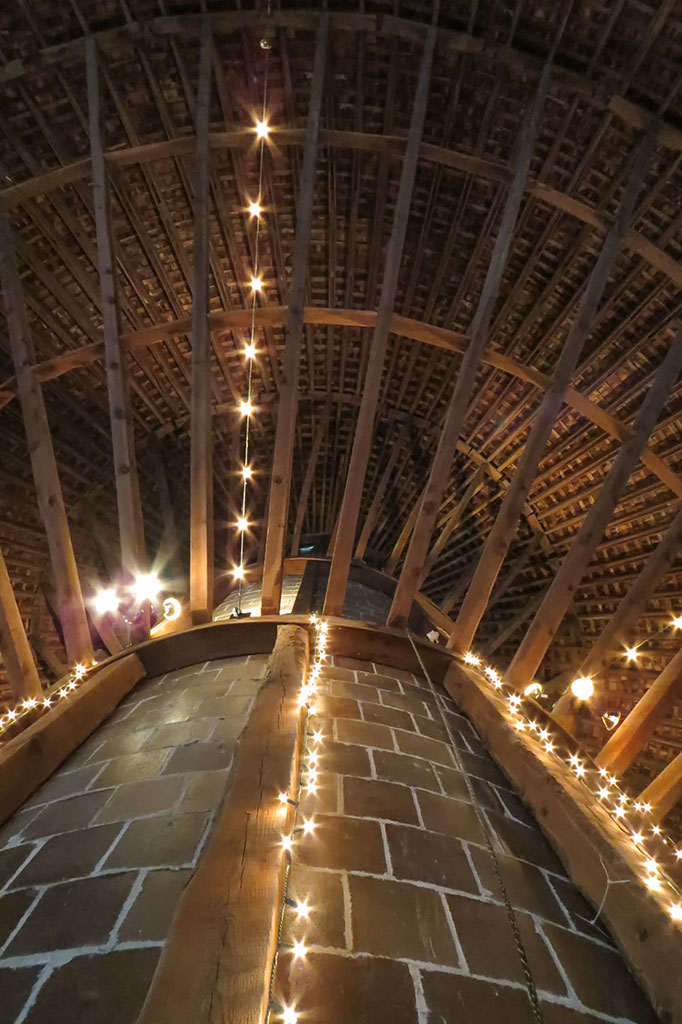 The upstairs of the barn has become a popular wedding venue. (Photo courtesy of Bubba's Garage Blog)