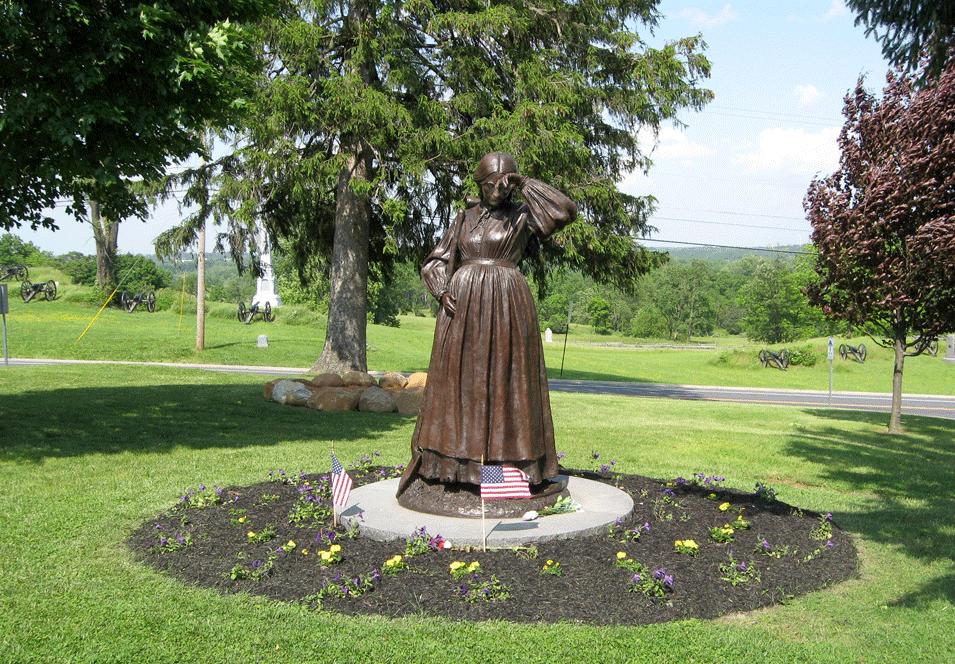 Gettysburg's Civil War Women's Memorial  Elizabeth Thorn