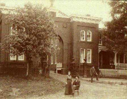 Evergreen Cemetery Gatehouse circa 1850