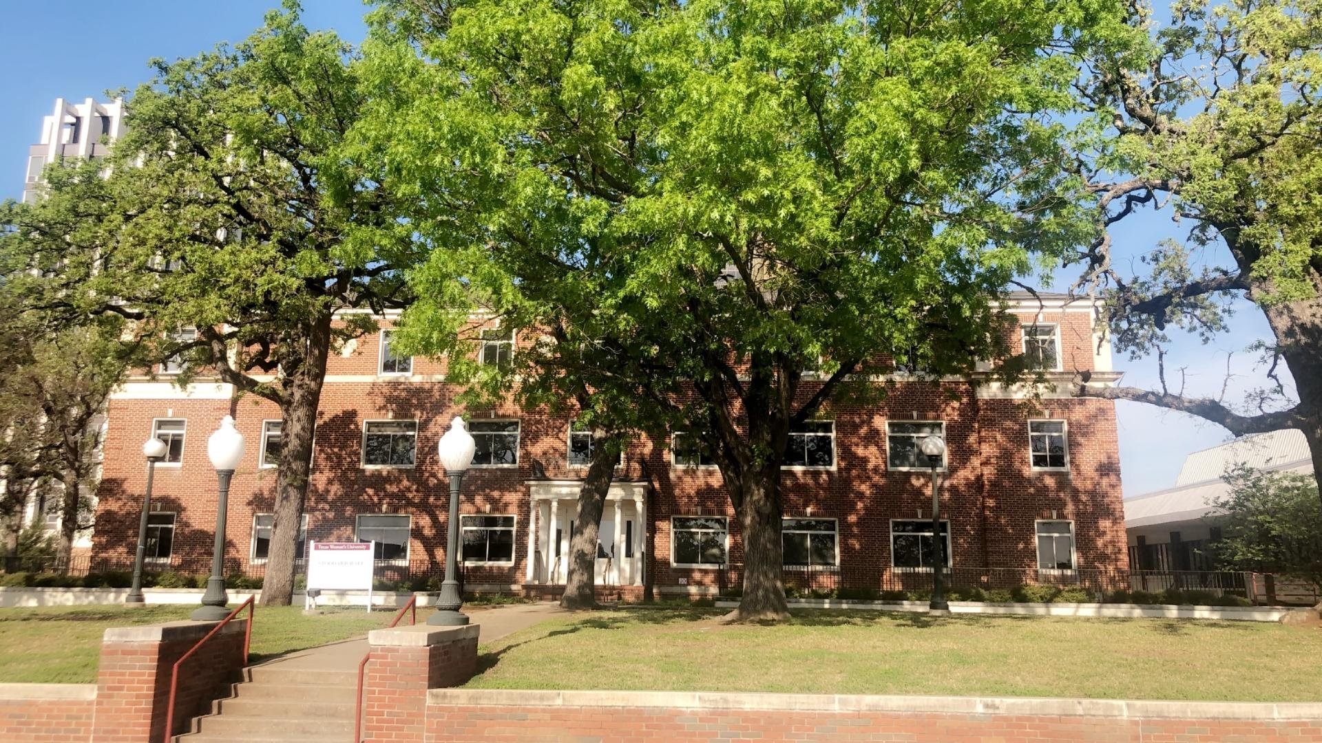 Stoddard Hall in 2019 as the home of the College of Professional Education building.