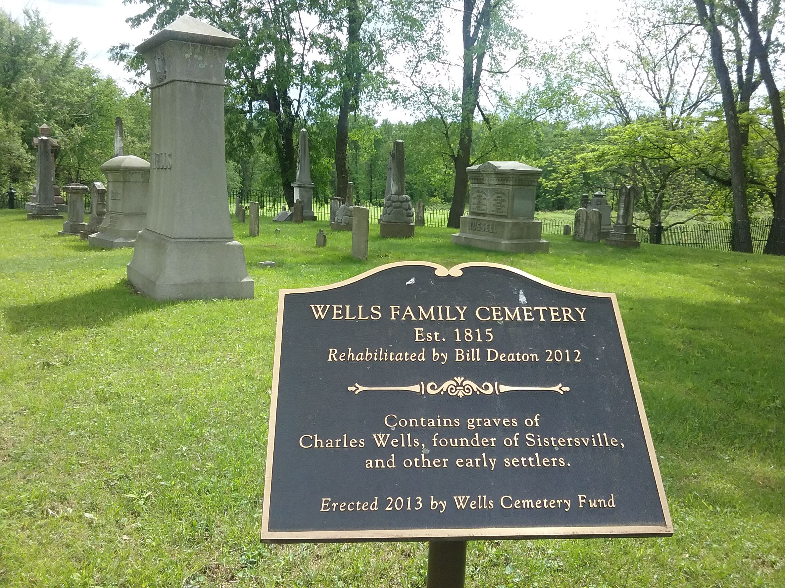 The Wells Family Cemetery