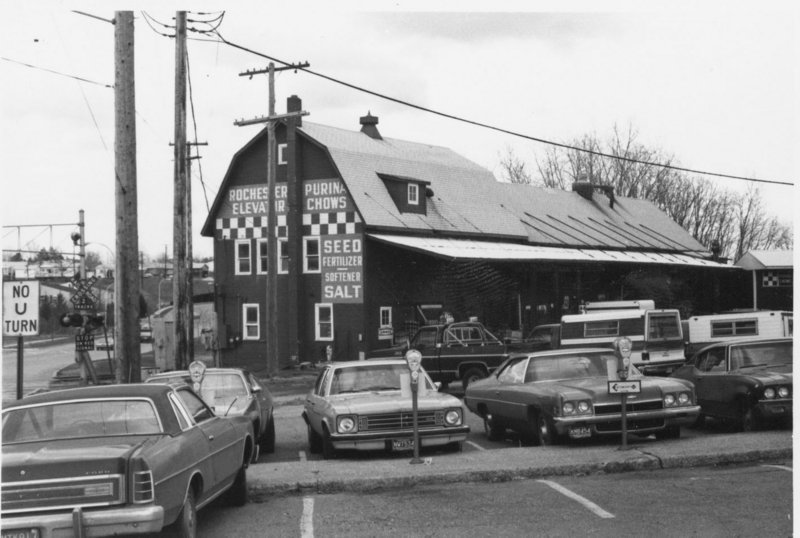 Rochester Elevator Building, c. April 1978.