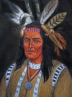Cornstalk (Hokoleskwa) was a strong leader of the Shawnee nation just prior to the American Revolution and westward migration of the tribe.