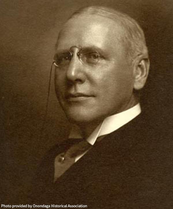 Jacob Amos - Photo from the Onondaga Historical Association
