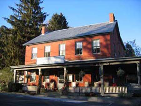 Modern-day Cashtown Inn, largely unchanged from the 19th century.