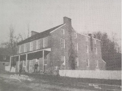 The Cashtown Inn served as an Inn since the beginning of the 19th century, and still serves the same function today. Photo by C.C. Kuhn