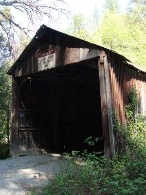 Oregon Creek Covered Bridge (Exterior)