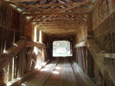 Oregon Covered Bridge (Interior)