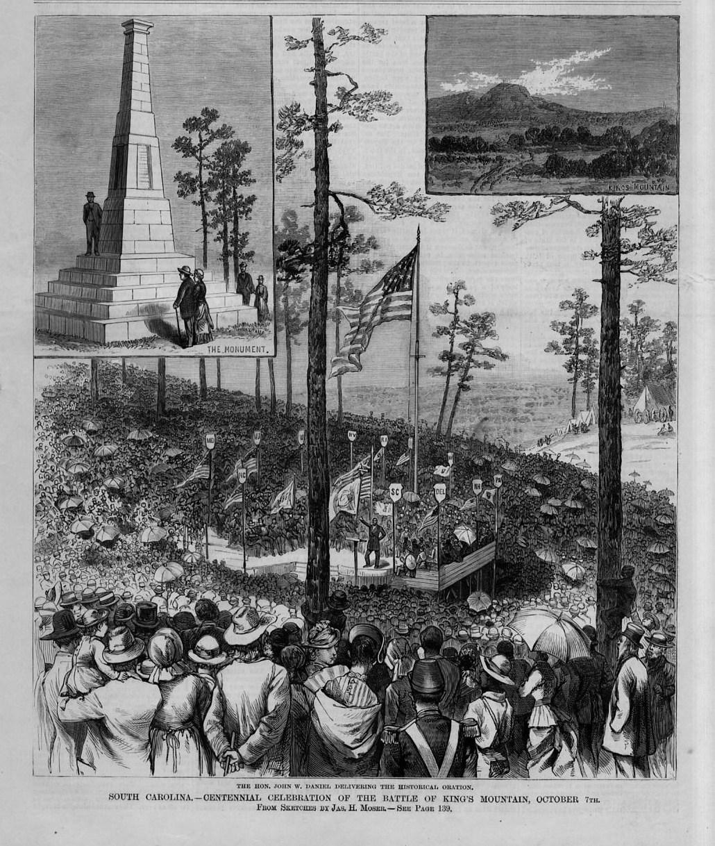 Cover of Frank Leslie's Illustrated Newspaper depicting the celebration