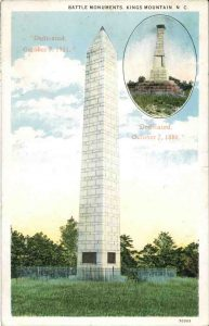 Postcard of U.S. Monument from 1910