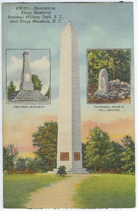 1930s Postcard of U.S. Monument