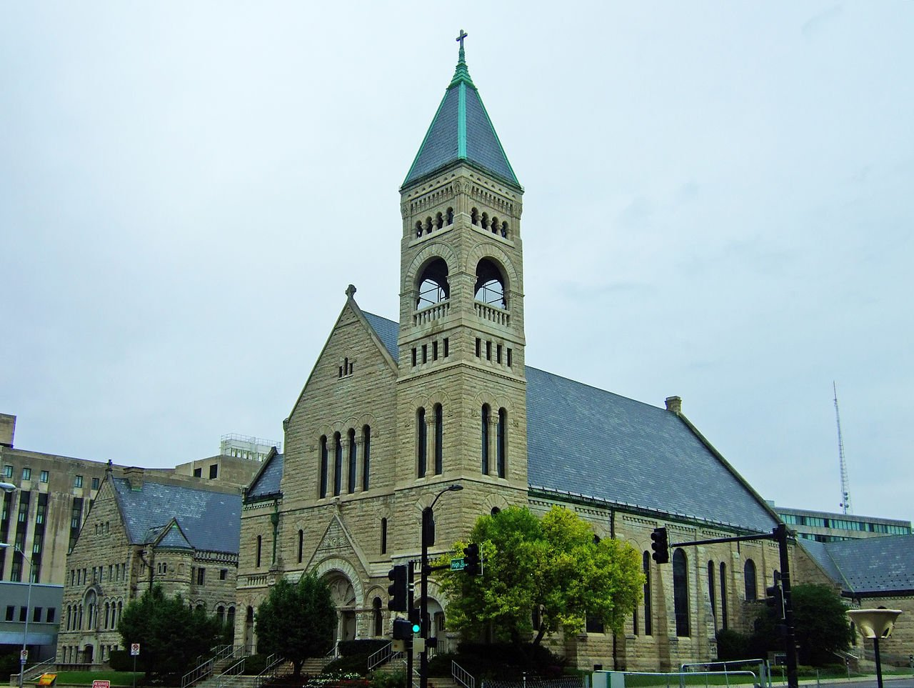 St. Ambrose Cathedral was built in 1891.