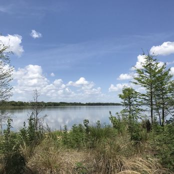 View of Lake Jesup from the park