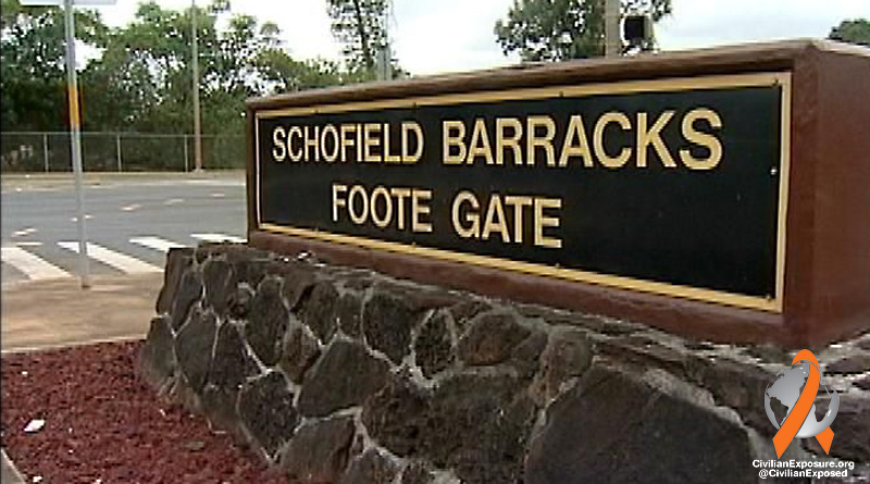 This is the Foote Gate entrance to Schofield Barracks.  It is located on the East side of the post and lies in between Schofield Barracks and Wheeler Army Airfield