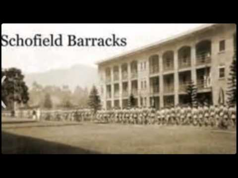 Image of Schofield Barracks and the 25 Infantry Division outside.