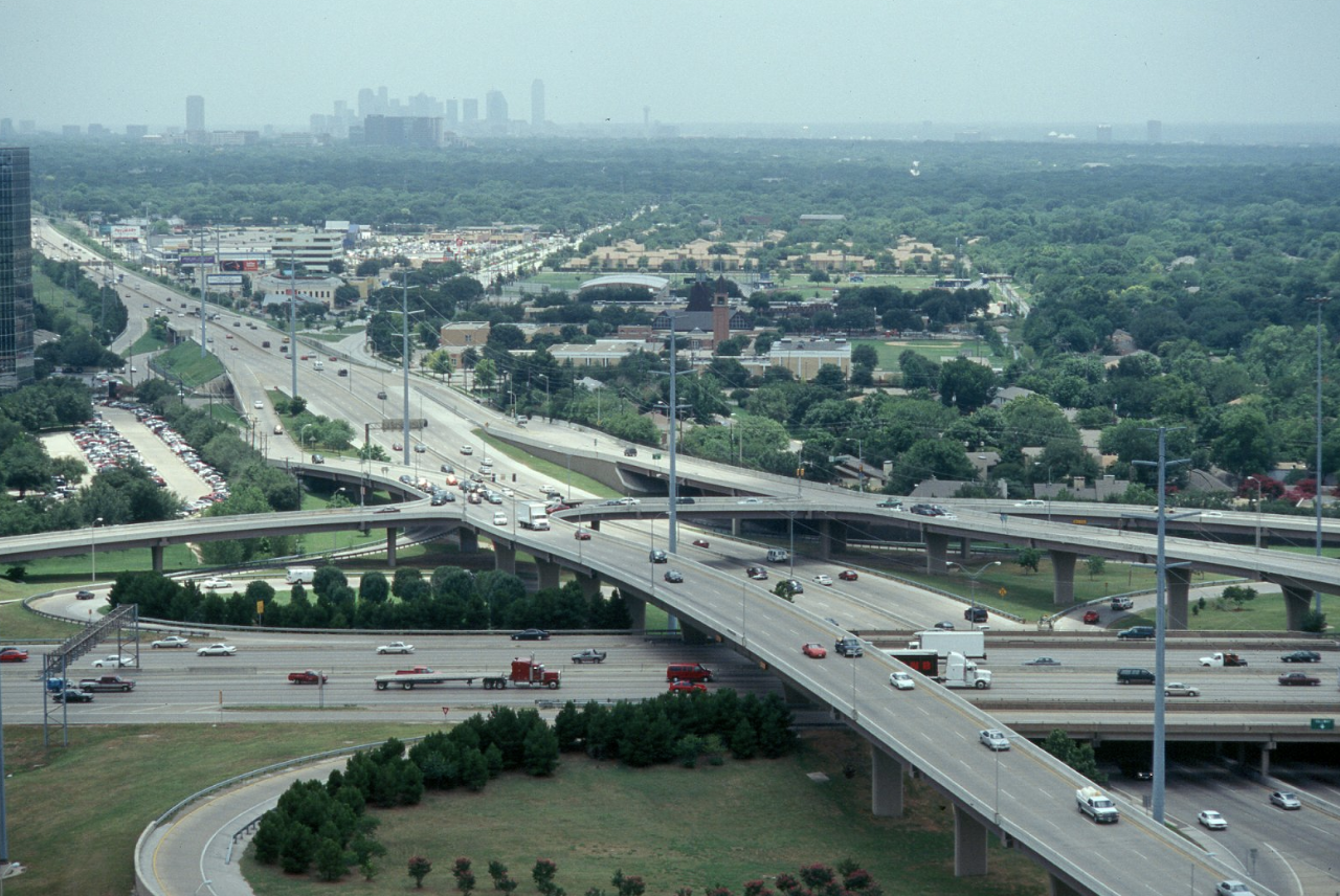 This is an image of Dallas North Tollway.