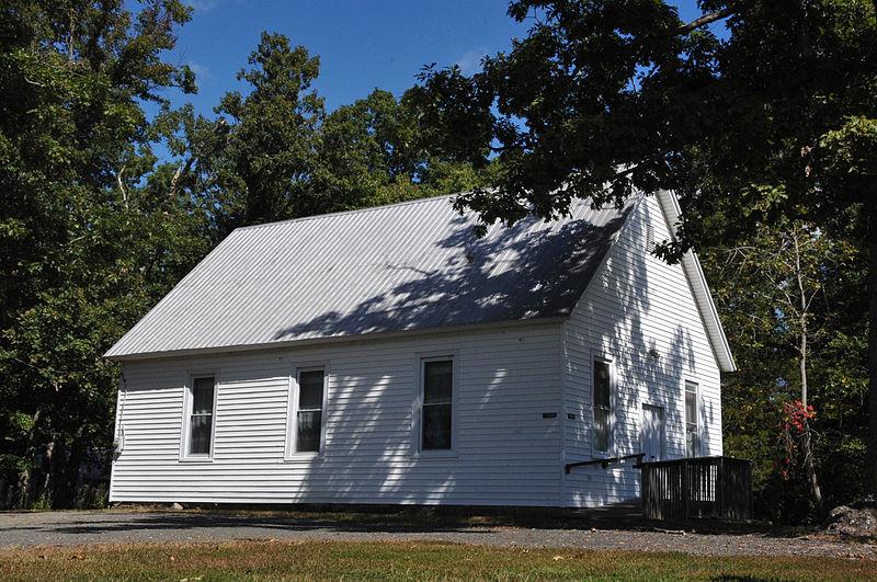 Church near the battlefield