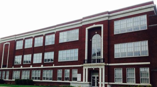The Douglass Centre, site of Ebenezer Medical Outreach and former Douglass Junior-Senior High School