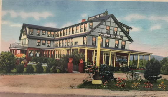 The Original Mountain View Inn, colorized