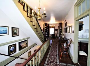 Interior of Pembroke Manor with Staircase