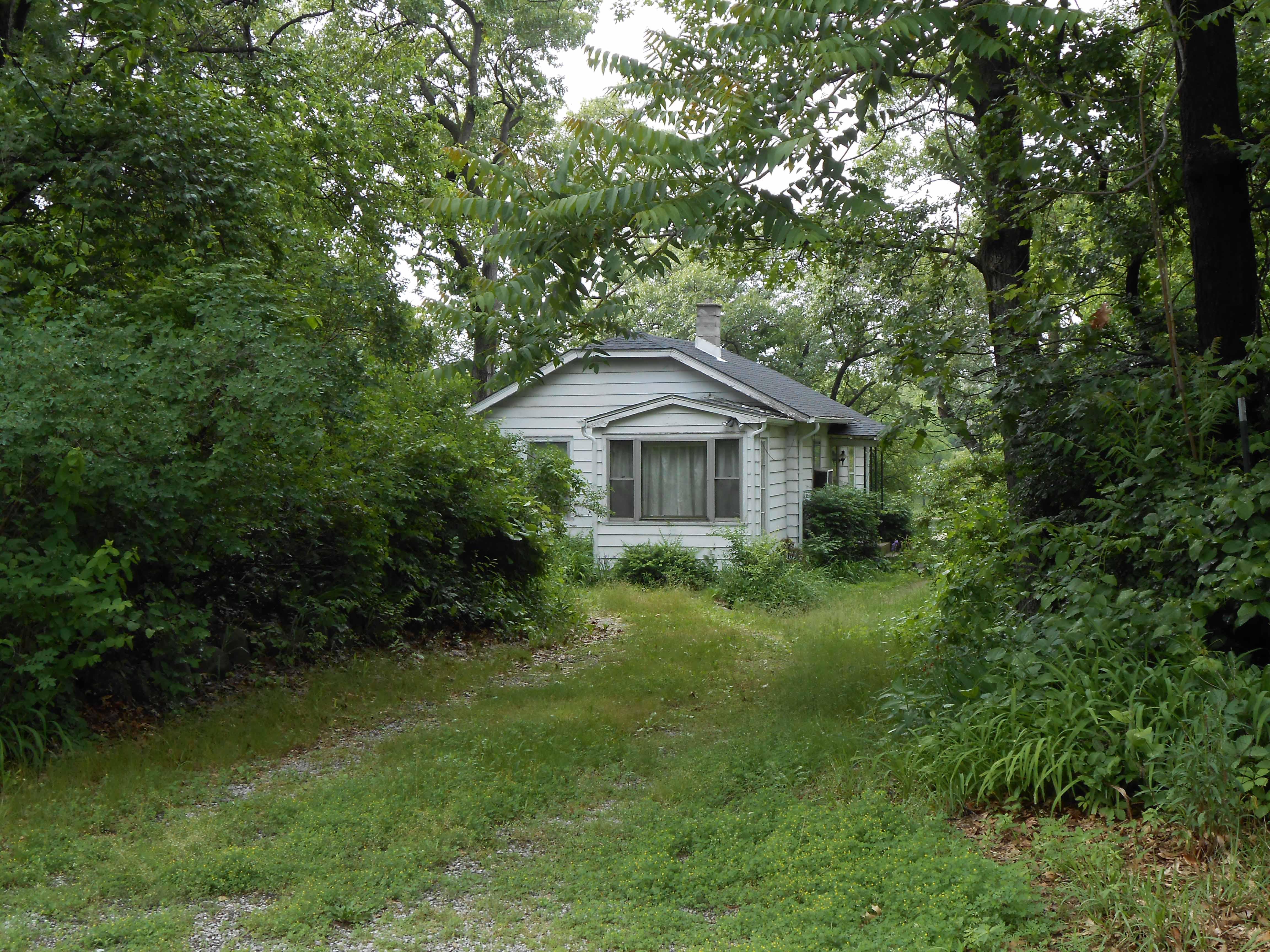 Nelson Algren cottage in the Miller neighborhood of Gary, IN.
