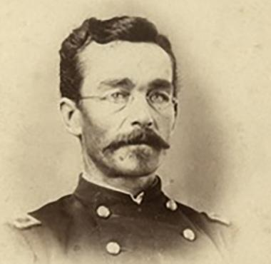 Union Colonel Hermann Lieb, in command of the African Brigade