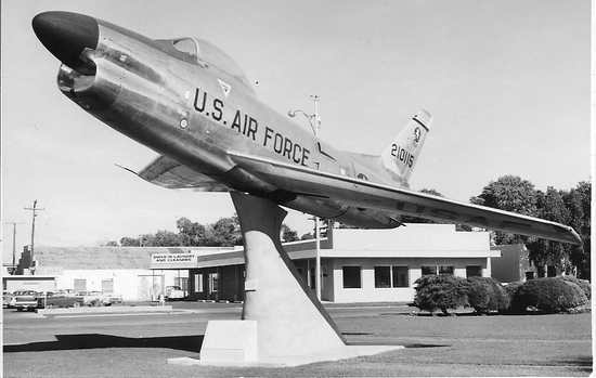 F-86d in Chandler, c. 1965