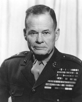 Lieutenant General Lewis B. Puller military photo