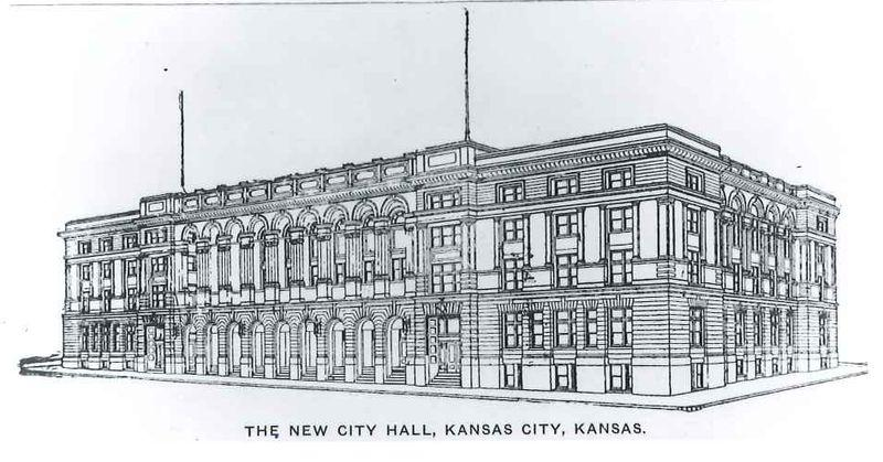 Possibly the original intended design of the City Hall, which had to be pared down for financial reasons