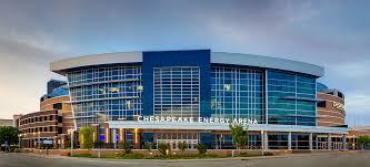 Outside of Chesapeake Energy Arena