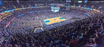 Chesapeake Energy Arena during a Oklahoma City Thunder game.