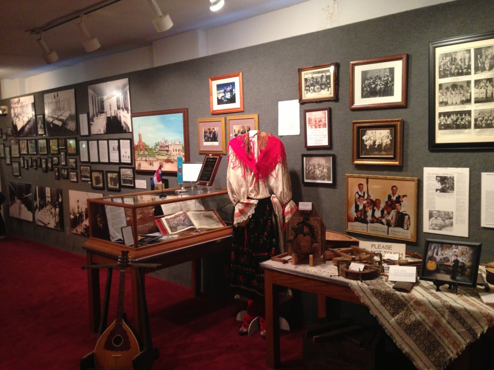 The museum has exhibits where visitors can learn about the culture and history of various Eastern European immigrant groups who lived in the area