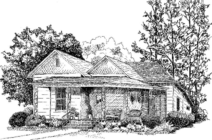 308 Church Street Sketch