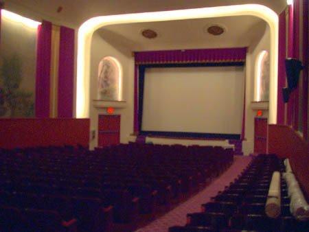 Interior of the Avon Theatre, Courtesy of CinemaTreasures.Org Creative Commons