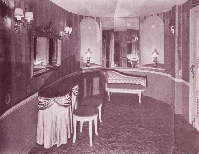 The Avon Theatre Powder Room circa 1939, Courtesy of CinemaTreasures.Org Creative Commons