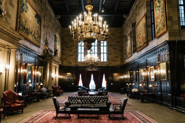 The famous Harvard Hall